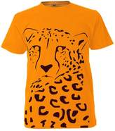 Hoodiii Kids Premium Printed T Shirt - Lucy The Cheetah - Colour