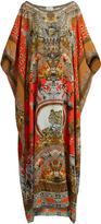 Camilla Hangzhou Hollywood-print silk kaftan