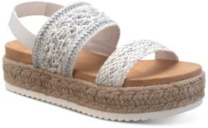 Sun + Stone Karli Flatform Sandals, Created for Macy's Women's Shoes