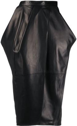 Proenza Schouler Tulip below-the-knee skirt