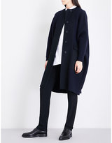 Jil Sander Oversized wool and cashmere-blend bouclé coat