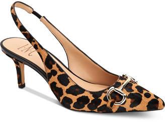 INC International Concepts Inc Carynn Kitten-Heel Slingbacks, Women Shoes