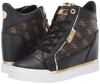 GUESS Fabia (Brown) Women's Shoes