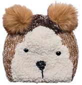 San Diego Hat Company Children's Bear Knit Beanie with Fur Ear KNK3509
