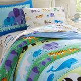 Olive Kids Endangered Animals Bedding
