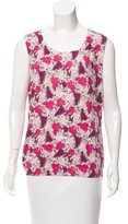 Escada Sport Printed Sleeveless Top