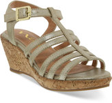 Nina Girls' or Little Girls' Florence Wedge Sandals