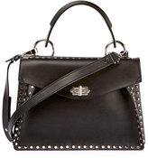 Proenza Schouler Hava Medium Top-Handle Satchel Bag, Black