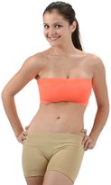 Womens Stretch Seamless Tube Top Bandeau Bra by Level 33