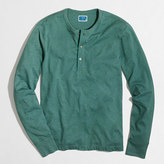 J.Crew Factory Marled cotton henley