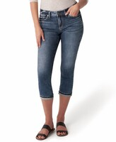 Thumbnail for your product : Silver Jeans Co. Elyse Capri Jeans