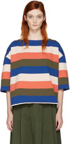 YMC Multicolor Oversized Agnes T-shirt