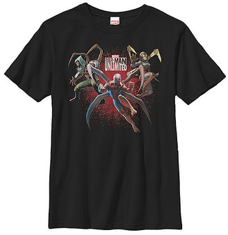 Fifth Sun Boys' Tee Shirts BLACK - Spider-Man Unlimited Tee - Boys