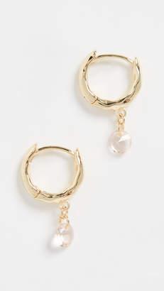 Gorjana Lia Shimmer Huggie Earrings