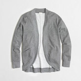 J.Crew Factory Factory bonded knit cardigan