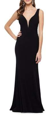 Xscape Evenings Sleeveless Mermaid Gown