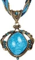 easygogo Year End Clearance Sale-ValentoriaNew Hot Fashion Bohemian Jewelry Statement Necklaces Women Rhinestone Gem Pendant Collar