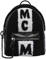 MCM Small Shearling & Leather Backpack