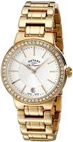 Rotary Women's lb90085/02l Analog Display Swiss Quartz Rose Gold Watch