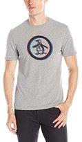 Original Penguin Men's 3-D Circle Logo Short Sleeve T-Shirt