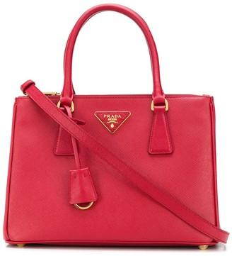 Prada Mini Double Zip Tote Bag