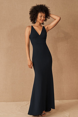 BHLDN Jones Dress By in Blue Size 26