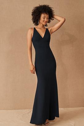 BHLDN Jones Dress By in Blue Size 8