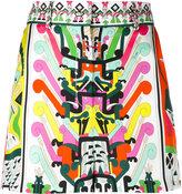 Emilio Pucci high-waisted shorts - women - Silk/Acetate/Viscose - 42