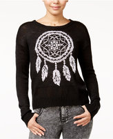 Almost Famous Juniors' Dreamcatcher Sweater