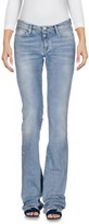 Care Label Denim pants - Item 42580176