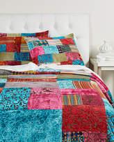 Karma Living Velvet Burnout Cotton Bedcover