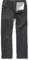 Levi's 1947 501 Shrink-to-Fit Straight Selvedge Denim Jeans