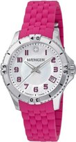Wenger Women's 0121.101 Analog Display Swiss Quartz Pink Watch
