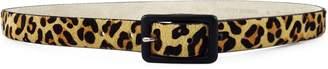 Fashion Focus Leopard-Print Calf Hair Belt