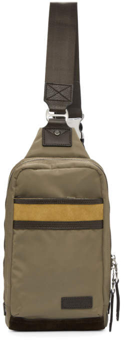 Master-piece Co Master Piece Co Beige Density One-Shoulder Backpack