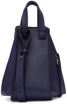 Loewe Navy Hammock Bag