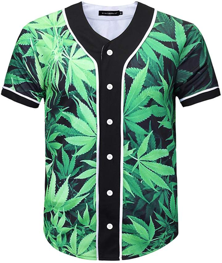 7c14f4167 Green Baseball Tops For Men - ShopStyle Canada