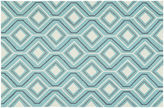 Kaleen Briann Outdoor Rug, Blue