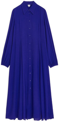 Arket Fluid Long-Sleeved Dress