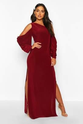 boohoo Kimono Sleeve Maxi Dress