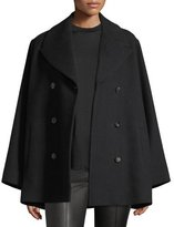 The Row Donla Double-Breasted Wool Jacket
