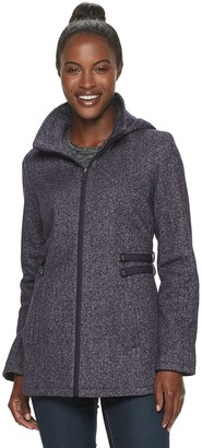 Details Women's Fleece Side Tab Hooded Jacket