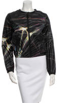 Hussein Chalayan Printed Zip-Up Windbreaker w/ Tags