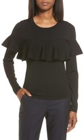 Women's Classiques Entier Layered Ruffle Sweater