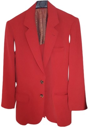 Jean Paul Gaultier Red Polyester Jackets