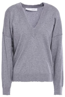 IRO Haywire Distressed Wool And Cashmere-blend Sweater