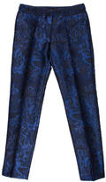 Burberry Brocade Cigarette Pants w/ Tags