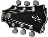 Buckle Rage Adult Unisex Guitar Music Headstock Musician Base Belt Buckle