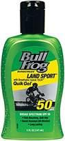 Bull Frog BullFrog Land Sport Quik Gel Sunscreen, SPF 50, 5 Ounce