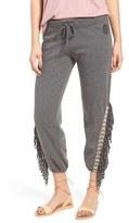 Rip Curl Women's Hideaway Fringe Crop Sweatpants